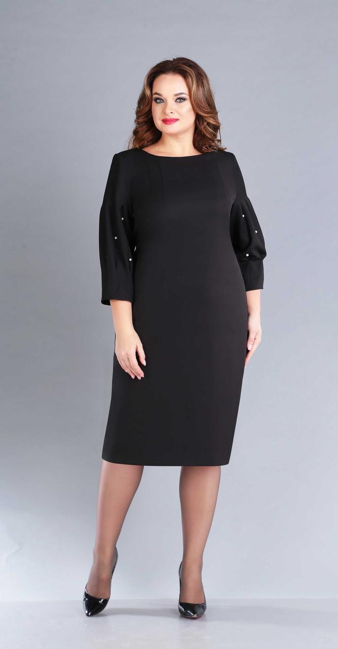 Платье Foxy Fox-43, черный, 52