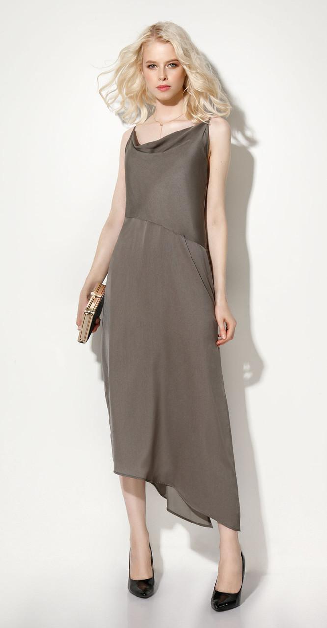 Платье Prio-706580, хаки, 42