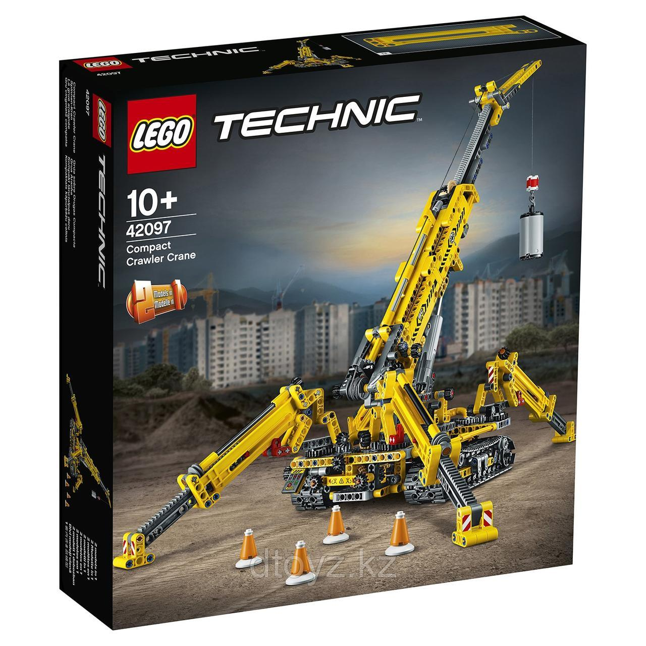 Lego 42097 Technic Мостовой кран 42097