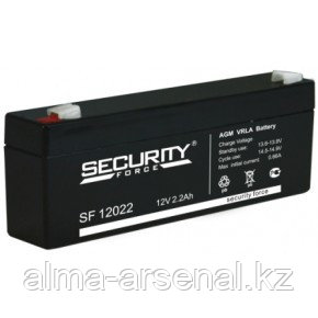 Аккумулятор SF 12V-2.2A Security Force