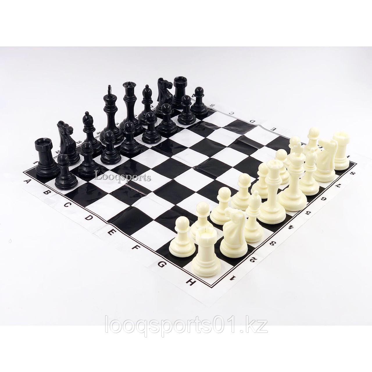 Шахматные фигуры пластиковые