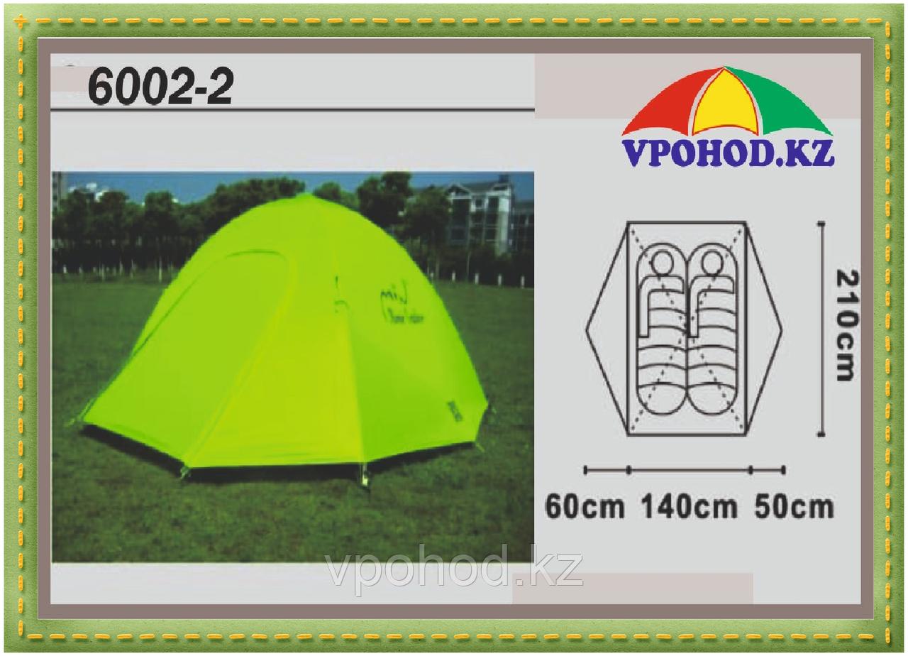 Палатка Mimir Min X-ART 6002 двухместная  210*(140+50+60) см