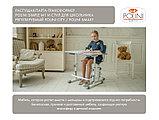 РАСТУЩАЯ ПАРТА-ТРАНСФОРМЕР POLINI KIDS SIMPLE М1 75Х55 СМ, белый-розовый 01-00185, фото 5