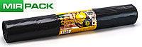 """Мусорный пакет 180 л,5 шт/рул """"СТРОЙКА"""" для строительного мусора, ПВД, 65мкм, 90*110 см, черные, фото 1"""