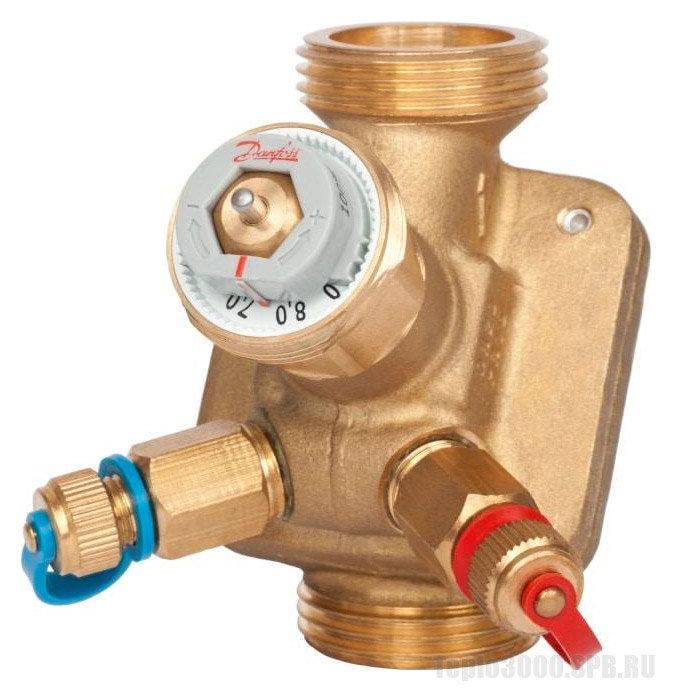 Клапан комбинированный балансировочный