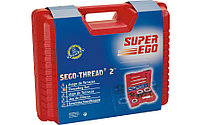 Ручной резьбонарезной набор PROFESSIONAL 1/2'' - 2'' резьба BSPT SUPER-EGO 600, фото 2