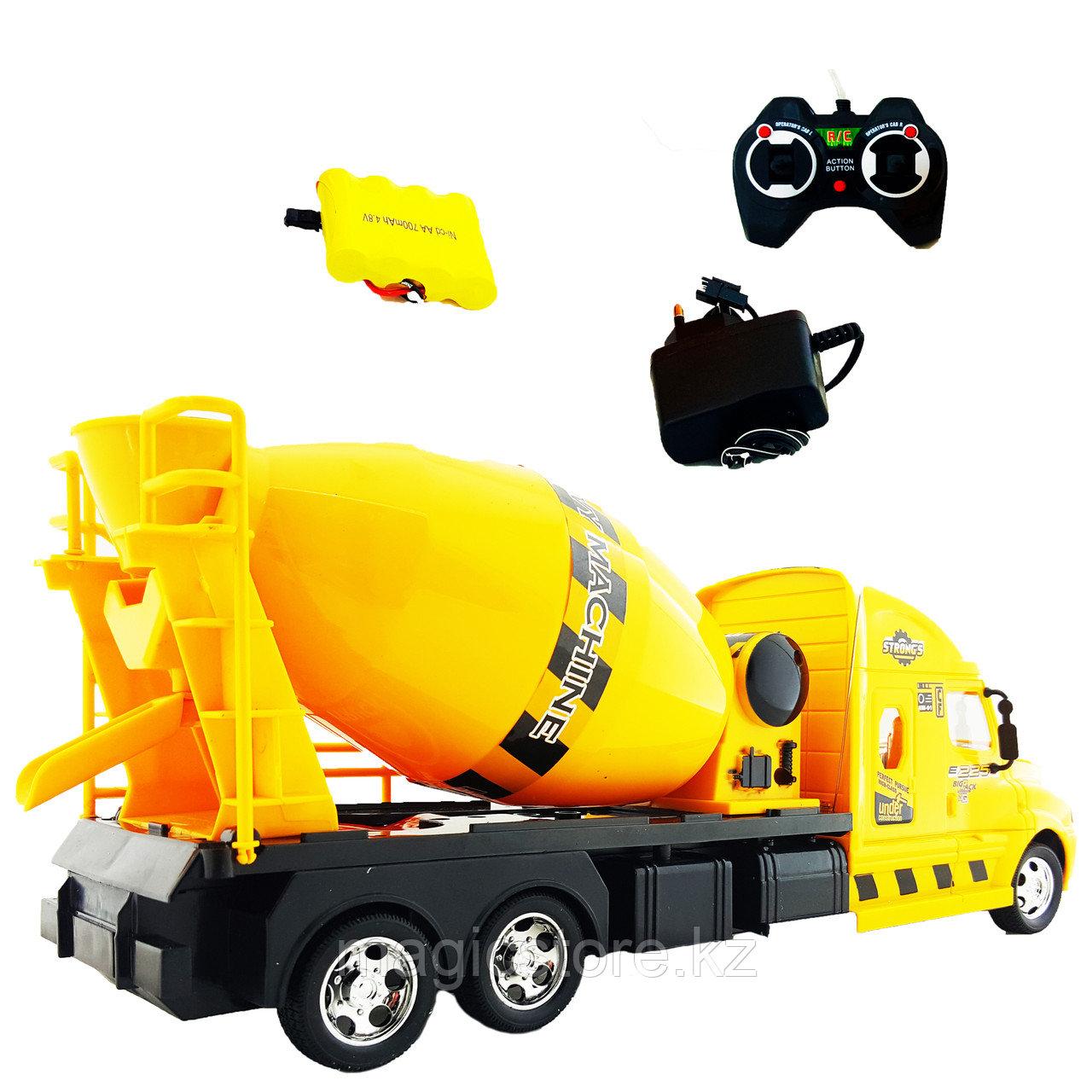 Truck Trailblazer R/C Trough Tipper Спецтехника Радиоуправляемая Бетономешалка, звук и свет - фото 2