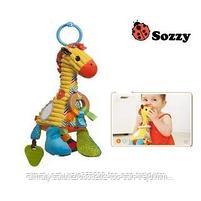 Развивающая игрушка Жираф  SOZZY, фото 3