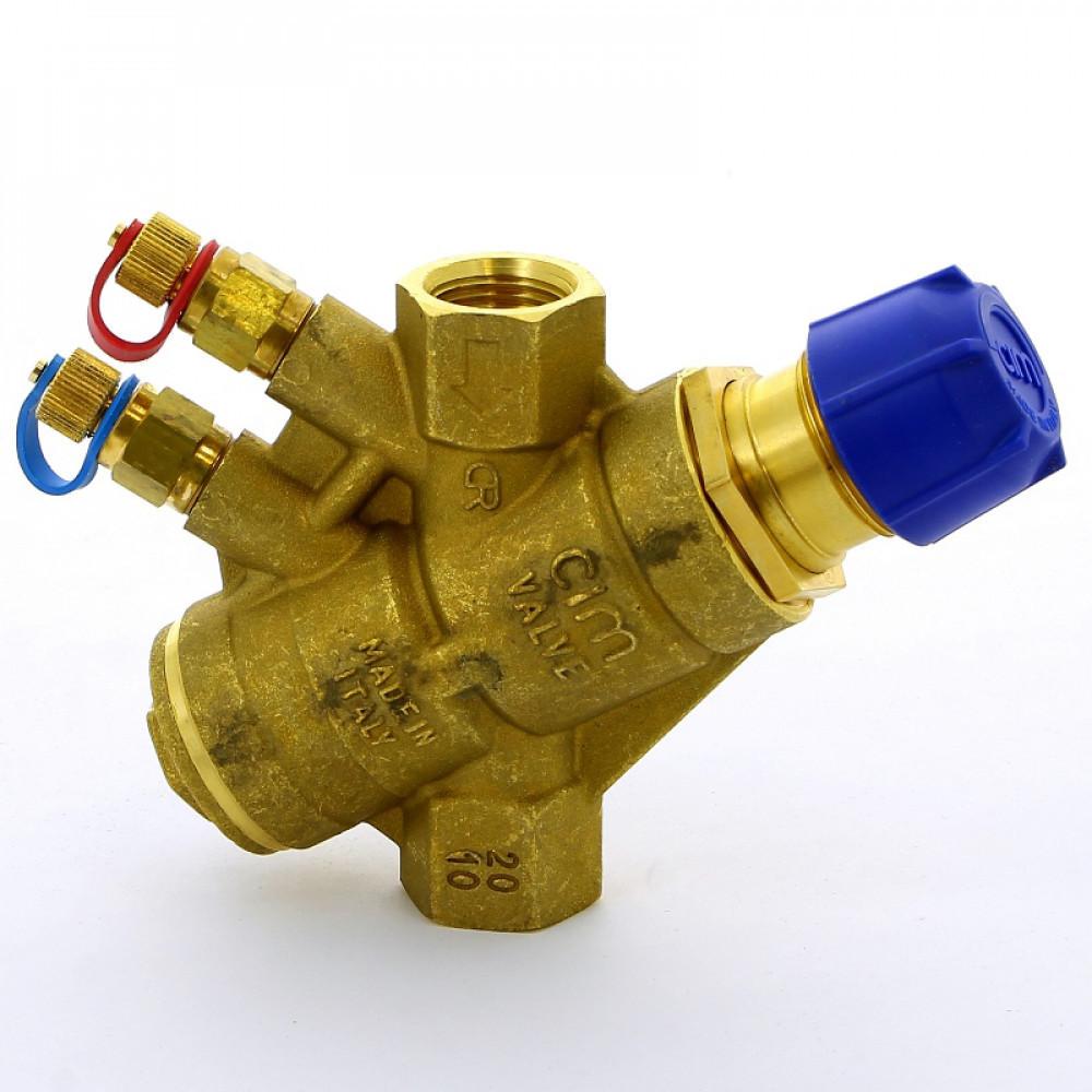 Клапан автоматический балансировочный TA-Compact-P