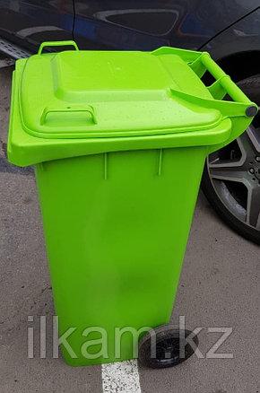 Урна 120 л пластиковая, фото 2