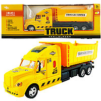 Truck Trailblazer R/C Trough Tipper Спецтехника Радиоуправляемый Камаз, звук и свет, фото 1