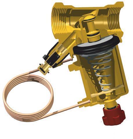 Клапан автоматический балансировочный STAP