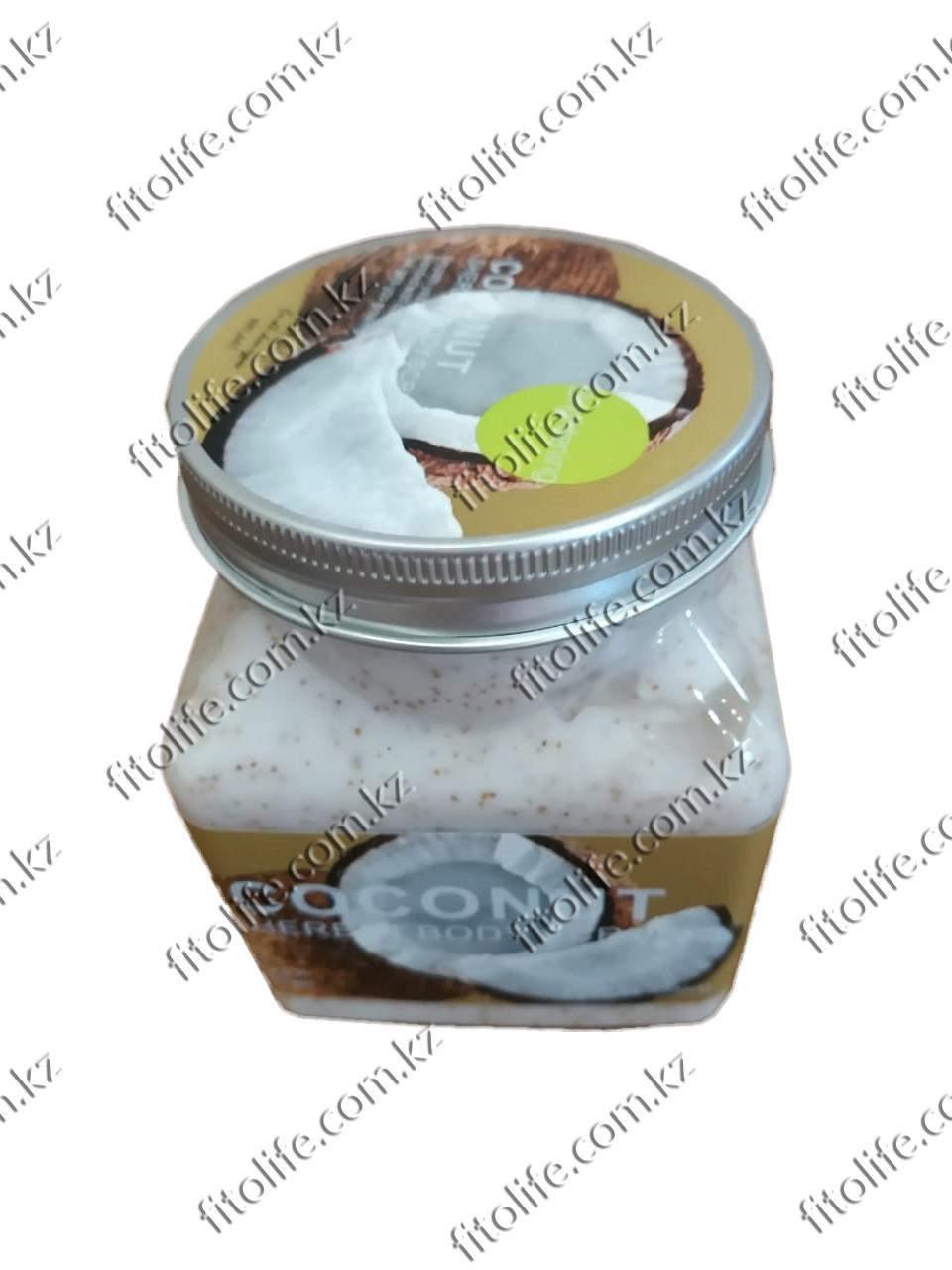 Скраб - крем для тела, кокос