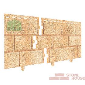 Фасадная панель акриловая Stone House (песочный кирпич)
