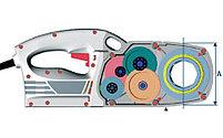 """Электрический клупп SUPERTRONIC 1250 1/2"""" - 1.1/4"""" BSPT SUPER-EGO, фото 2"""