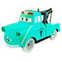 Cars 2 Тачки Мэтр зеленый музыкальный Extreem Speed Battery Operated Light and Music