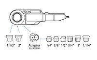"""Набор SUPERTRONIC 2000 в пластмассовом чемодане D 1/2"""" - 2"""" BSPT SUPER-EGO, фото 3"""