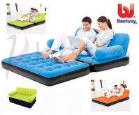 Диван надувной 188х152х64 см, max 295 кг, Bestway 67356, поверхность флок, насос