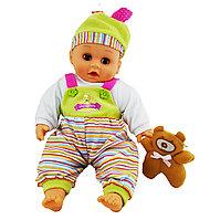 Пупс MEIYE Bibi Giggles and Coos Baby с игрушкой