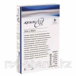 Аквасель лента с усиливающим волокном с серебром (Aquacel Ag)  2х45 см
