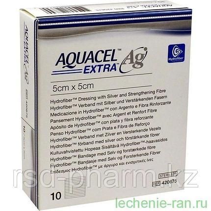 Аквасель Экстра с серебром (Aquacel Extra Ag)  5x5cm, фото 2