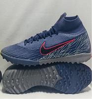 Бутсы футбольные Nike Mercurial SuperflyX 6 Elite TF размеры 36-40