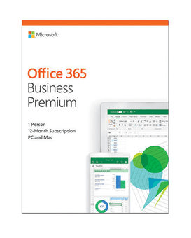 Microsoft Office 365 Business Premium, 12 мес/ Электронная лицензия