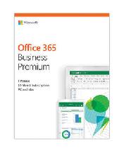 Microsoft Office 365 Business Premium, 12 мес/ Электронная лицензия