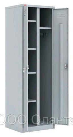 Шкаф для одежды двухсекционный с полками (800х500х1860) арт. ШРМ22У