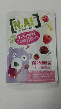 Ti Fruits - малиновый перекус 35 грамм