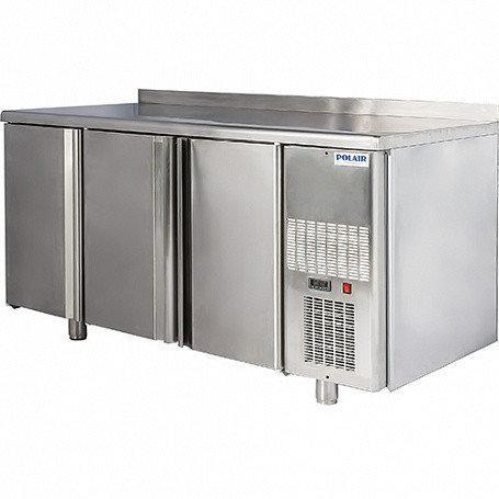 Стол среднетемпературный V=400л, ПОЛАИР TM3-G Grande (- 2...+10С, 1628х605х850/910мм, 3 двери)