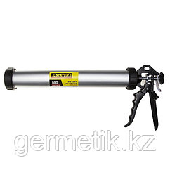 """Пистолет для герметика STAYER """"PROFESSIONAL"""" 0673-60, закрытый, алюминиевый корпус, 310мл/600мл"""
