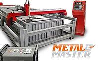 Портальная установка плазменной резки MetalMaster CUT CNC 2 C (скоростная) с ЧПУ + Стол рамный