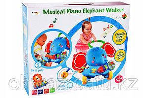 Интерактивные ходунки слон 3 в 1