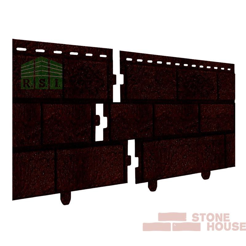 Фасадная панель акриловая Stone House (коричневый кирпич)
