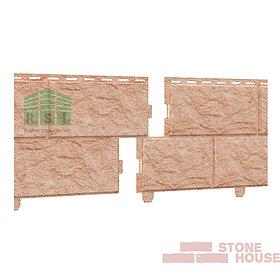 Фасадная панель акриловая Stone House (золотистый камень)