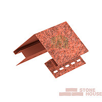 Наружный угол Stone House (красный кирпич)