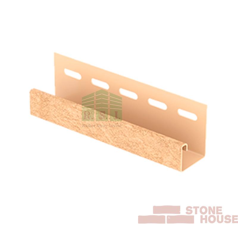 J-планка Stone House (песочный кирпич)