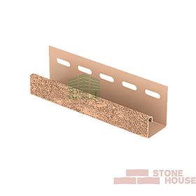 J-планка Stone House (бежевый кирпич)