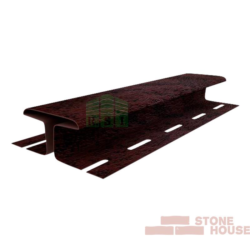 Соединительная планка Stone House (коричневый кирпич)