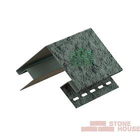 Наружный угол Stone House (изумрудный камень)