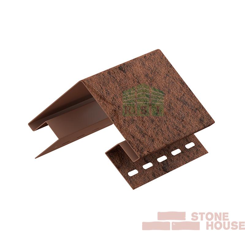 Наружный угол Stone House (жженый камень)