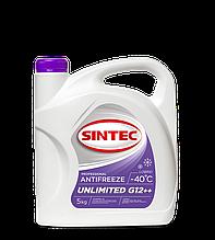 Антифриз SINTEC Unlimited Lobrid G12++ -40 (фиолетовый) (5кг)