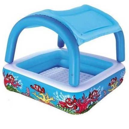 Надувной детский бассейн с навесом от солнца Bestway 52192, фото 2