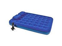 Матрас надувной двуспальный 203х152х22 см, max 295 кг, Bestway 67374, подушки 2, насос ручной