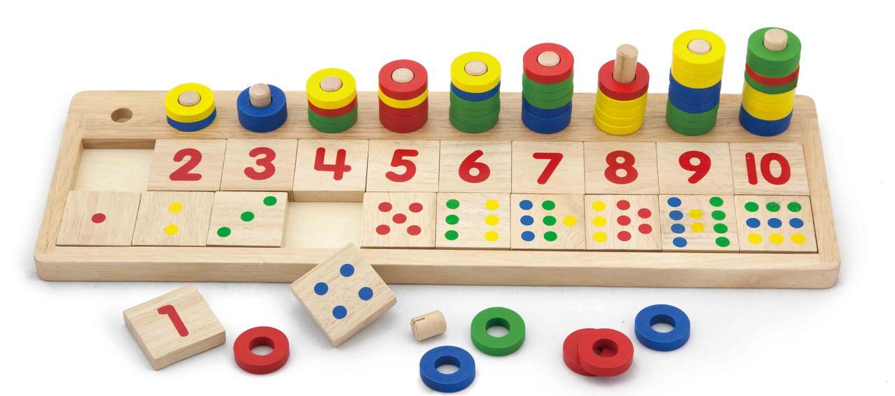 """Игровой набор """"Учимся считать"""""""
