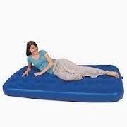 Матрас надувной односпальный 188х99х22 см, max 139 кг, Bestway 67001, поверхность флок