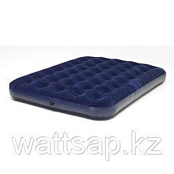 Матрас надувной двуспальный 191х137х22 см, max 175 кг, Bestway 67002, поверхность флок