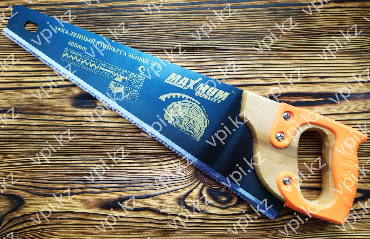 Ножовка по дереву, tpi 7-8,  400мм.,   MAXIMUM