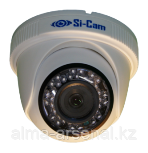 Купольная видеокамера SC-H134F IR